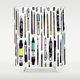 Pent Up Creativity (Color) Shower Curtain
