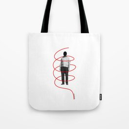 Red Thread 1 Tote Bag