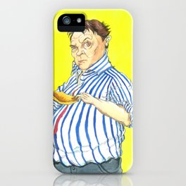 Peter Marsh Come Dine With Me Portrait iPhone Case