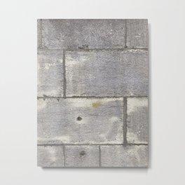 Grey stone of Montréal - Pierre Grise de Montréal Metal Print