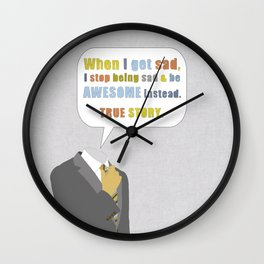 LEGEN____waitforit____DARY Wall Clock