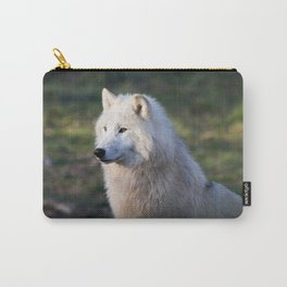 Canis Lupus Arctos II Carry-All Pouch