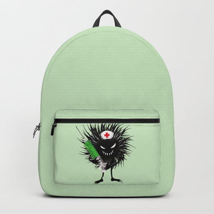 Evil Bug Nurse With Syringe Backpack