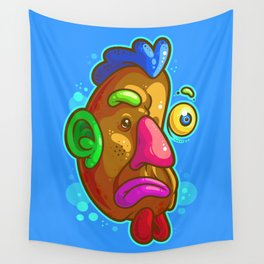 Chicken Tater Head Wall Tapestry