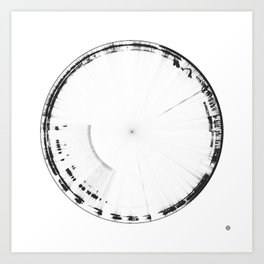 Sound of Earth - Van Allen Belt 2 Art Print