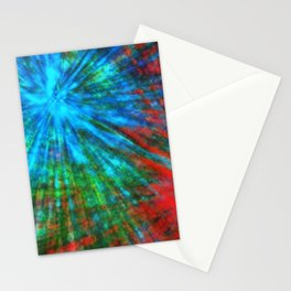 Abstract Big Bangs 001 Stationery Cards