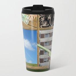 An der Schwelle zur Freiheit · a day with Magritte 1 Travel Mug