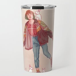 Color Mind Lady Travel Mug