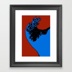 wave rider no.1 Framed Art Print