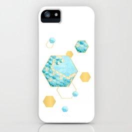 Great Hexagonal Wave iPhone Case