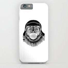 Chimpanzee Pilot iPhone Case