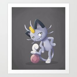 408d6c76a Meowth That's Right! by shavostars. $21.99$21.99. Alolan Meowth Art Print
