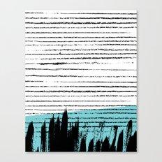 Lines & Strokes 001 Canvas Print