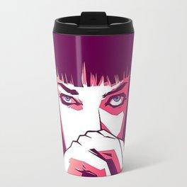 Pulp Fiction Mia Wallace Travel Mug