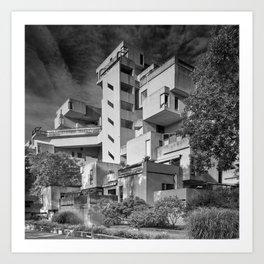 Habitat 67 04 - Mid Century Architecture Art Print