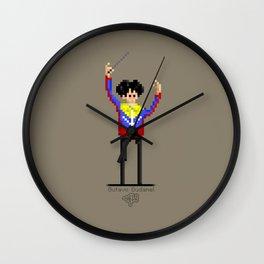 Gustavo Dudamel / Pixel Art Wall Clock