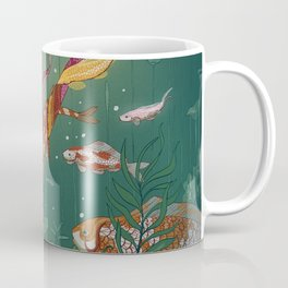 Ukiyo-e tale: The magic pen Coffee Mug