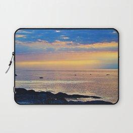 Sparkling Sunset Seascape Laptop Sleeve