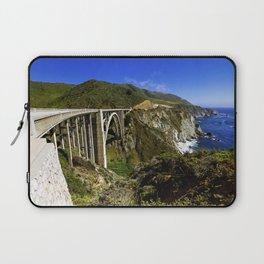Bixby creek bridge, Big Sur, CA. Laptop Sleeve