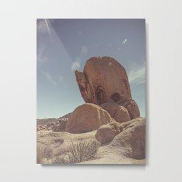 Joshua Tree Rocks ll Metal Print