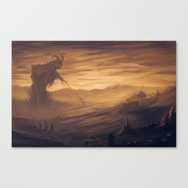 Sunset Over the Old Gods Canvas Print