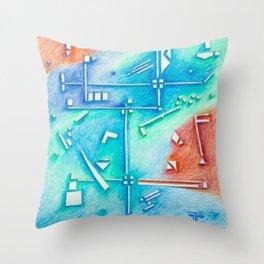 planning Life Throw Pillow