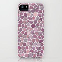 Pink Mosaic Pattern - lighter iPhone Case