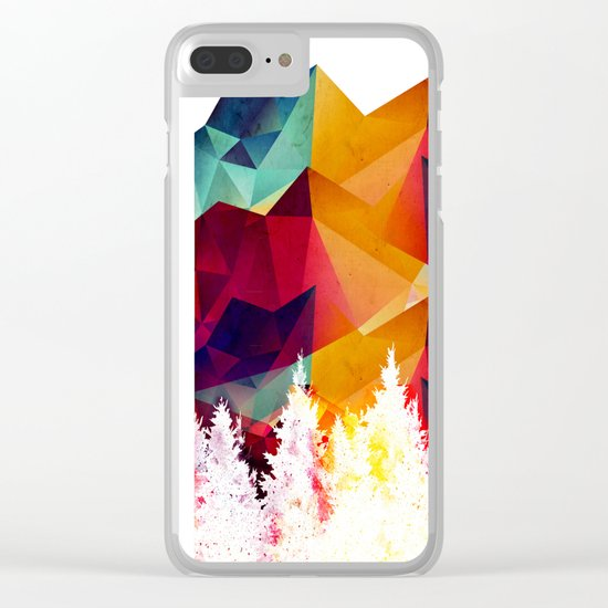 Forest made of color Clear iPhone Case