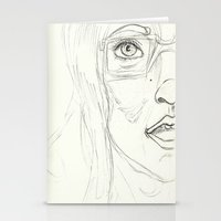 glasses Stationery Cards featuring Glasses by writingoverashes
