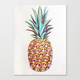 Spikey Pineapple Canvas Print
