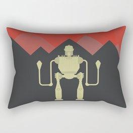The Iron Giant, classic cartoon, minimal movie poster Rectangular Pillow