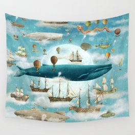 Ocean Meets Sky - option Wall Tapestry