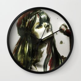 Bat for lashes Wall Clock