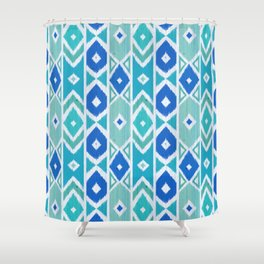 Wood Boho 6 Shower Curtain