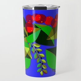 Traditional Pomegranates, Grapes and Olives Travel Mug