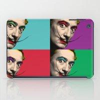 salvador dali iPad Cases featuring Salvador Dali  by mark ashkenazi