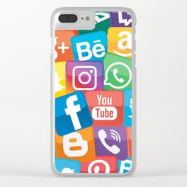 Apps Clear iPhone Case