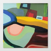 community Canvas Prints featuring the community by sylvie demers