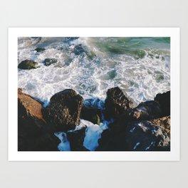 Ventura Beach Art Print
