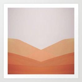 Dune Twins Art Print
