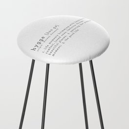 THE MEANING OF HYGGE Counter Stool