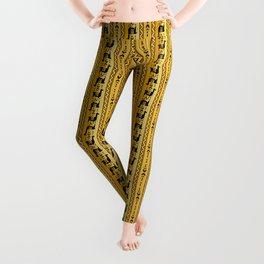 Llamas_Mustard Leggings