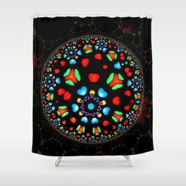 Orbs 0005 Shower Curtain