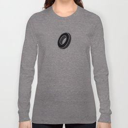The Alphabetical Stuff - O Long Sleeve T-shirt