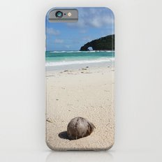 The Coconut Nut is a Giant Nut - beach view Slim Case iPhone 6s