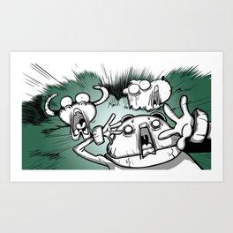 OMG ! (Peepoodo) Art Print