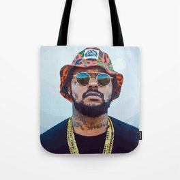 SBQ - Schoolboy Q Watercolor Tote Bag