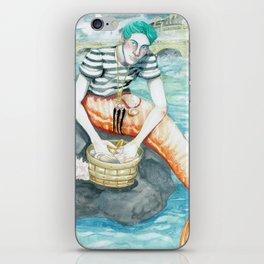 Parisian Merman iPhone Skin