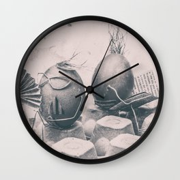Summer on the beatch Wall Clock