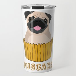 Pugcake Travel Mug